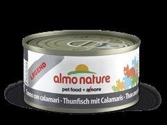 Almo Nature - Консервы для кошек (с Тунцом и Кальмарами) Legend Adult Cat Tuna and Squids