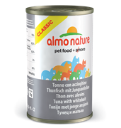 Almo Nature - Консервы для кошек (с Тунцом и Сардинками) Classic Adult Cat Tuna and White Bait