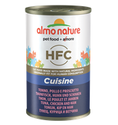 Almo Nature - Консервы для кошек (с Тунцом, Курицей и Ветчиной) Classic Adult Cat Tuna and Chicken and Ham