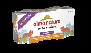 "Almo Nature - Консервы для кошек ""Меню с Тунцом и Курицей"" (Набор 2 шт. по 170 г) Daily Menu Cat Tuna and Chicken"