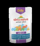"Almo Nature - Паучи для кошек ""Меню с треской и креветками"" Daily Menu Cat Cod and Shrimps"