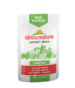 Almo Nature - Паучи для вывода шерсти у кошек (с говядиной) Functional Anti-Hairball with Beef