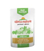 Almo Nature - Паучи для вывода шерсти у кошек (с курицей) Functional Anti-Hairball with Chicken