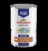 Almo Nature - Консервы для собак с чувствительным пищеварением (с Телятиной) Single Protein Veal