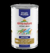 Almo Nature - Консервы для собак с чувствительным пищеварением (с Уткой) Single Protein Duck