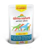 "Almo Nature - Паучи для собак ""Тунец, Курица и Сыр в желе"" Classic Jelly Tuna, Chicken and Cheese"