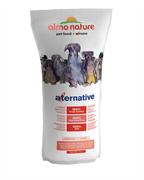 Almo Nature Alternative - Сухой корм для собак средних и крупных пород (со свежим лососем и рисом), 50 % мяса Alternative Fresh Salmon and Rice