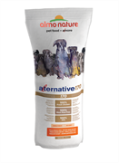 Almo Nature Alternative - Сухой корм для собак средних и крупных пород (со свежим цыпленком и рисом) 75 % мяса Alternative 170 Chicken and Rice