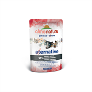 Almo Nature Alternative - Паучи для кошек (с сардинами), 91% мяса Alternative Sardines