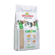 Almo Nature Cat Litter - 100% Натуральный биоразлагаемый комкующийся наполнитель