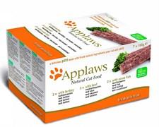 "Applaws - Набор для Кошек ""Индейка, Говядина, Океаническая рыба"" (7 шт*100 г) Cat Pate MP Turkey, Beef and Ocean Fish"