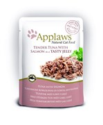 "Applaws - Паучи для кошек ""Кусочки тунца с лососем в желе"" Cat Pouch Tuna Whole Meat with Salmon in Jelly"
