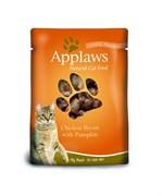 Applaws - Паучи для кошек (с курицей и тыквой) Cat Pouch Chicken and Pumpkin
