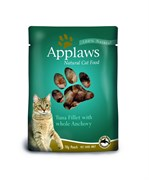 Applaws - Паучи для кошек (с тунцом и анчоусами) Cat Pouch Tuna and Anchovy