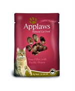 Applaws - Паучи для кошек (с тунцом и королевскими креветками) Cat Pouch Tuna and Pacifc Prawn