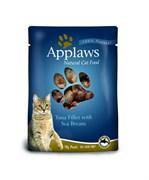 Applaws - Паучи для кошек (с тунцом и морским окунем) Cat Pouch Tuna and Seabream