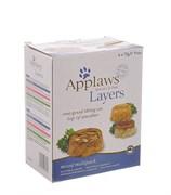 """Applaws - Набор для кошек """"Лакомые кусочки в желе: Ассорти"""" (6 шт*70 г)"""