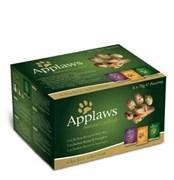 "Applaws - Набор паучей для кошек ""Куриное ассорти"" (12 шт*70 г) Cat Multi Pouch Chicken"