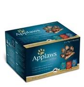 "Applaws - Набор паучей для кошек ""Рыбное ассорти"" (12 шт*70 г) Cat Fish Multi Pouch"