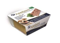 Applaws - Паштет для собак (с лососем и овощами) Dog Pate Salmon and Vegetables