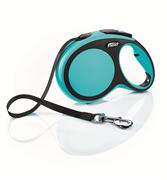 Flexi - Рулетка-ремень для собак, размер L - 8 м до 50 кг (голубая) New Comfort Tape blue