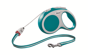 Flexi - Рулетка-трос для собак, размер S - 8 м до 12 кг (бирюзовая) Vario cord turquoise
