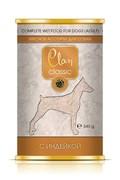 Clan Classic - Консервы для собак (мясное ассорти с индейкой)