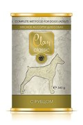 Clan Classic - Консервы для собак (мясное ассорти с рубцом)