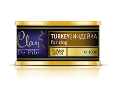 Clan De File - Консервы для собак (индейка) № 52