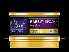 Clan De File - Консервы для собак (кролик) № 54
