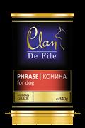 Clan De File - Консервы для собак (конина) № 65