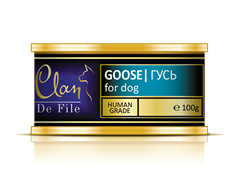 Clan De File - Консервы для собак (гусь) № 56