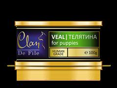 Clan De File - Консервы для щенков (телятина) № 55