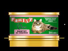 Clan  Family - Консервы для кошек (паштет из индейки) №21