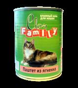 Clan Family - Консервы для кошек (паштет из ягнёнка) №28