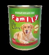 Clan  Family - Консервы для собак (паштет из говядины) №40
