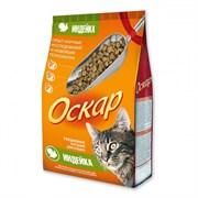 Оскар - Сухой корм для кошек (с индейкой)
