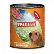 Трапеза - Консервы для собак (с бараниной)