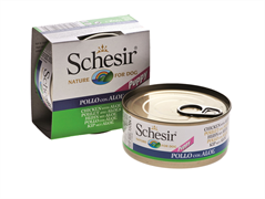 Schesir - Консервы для щенков (цыплёнок с алое)