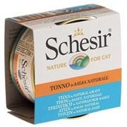 Schesir консервы для кошек тунец в натуральном соусе