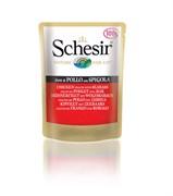 Schesir - Паучи для кошек (цыплёнок с окунем)