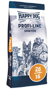 Happy Dog - Сухой корм для взрослых собак с повышенной активностью Profi-Linie Sportive