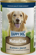 Happy Dog - Консервы для собак (с ягненком и рисом)
