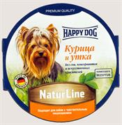 Happy Dog - Паштет для собак (с курицей и уткой)