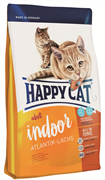 Happy Cat - Сухой корм для домашних кошек «Атлантический лосось» Adult Indoor