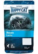 Happy Cat - Лакомые подушечки (с лососем)