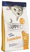 Happy Cat - Сухой беззерновой корм для кошек с чувствительным пищеварением (с кроликом) Sensitive Grainfree
