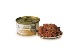 Brit - Консервы для кошек (с тунцом, морковью и горохом) Care Tuna, Carrot & Pea