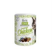 Brit - Лакомство для взрослых кошек (с курицей) Care Superfruits Chicken