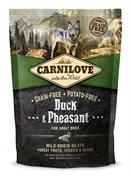 CarniLove - Сухой беззерновой корм для взрослых собак всех пород (утка и фазан) Adult Duck & Pheasant